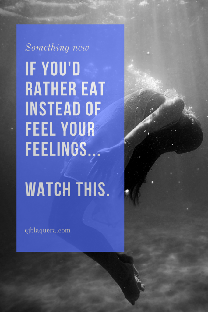 Love Your Emotions Instead of Eat to Stuff Them Down LOA Weight Loss Coach C. Jordan Blaquera