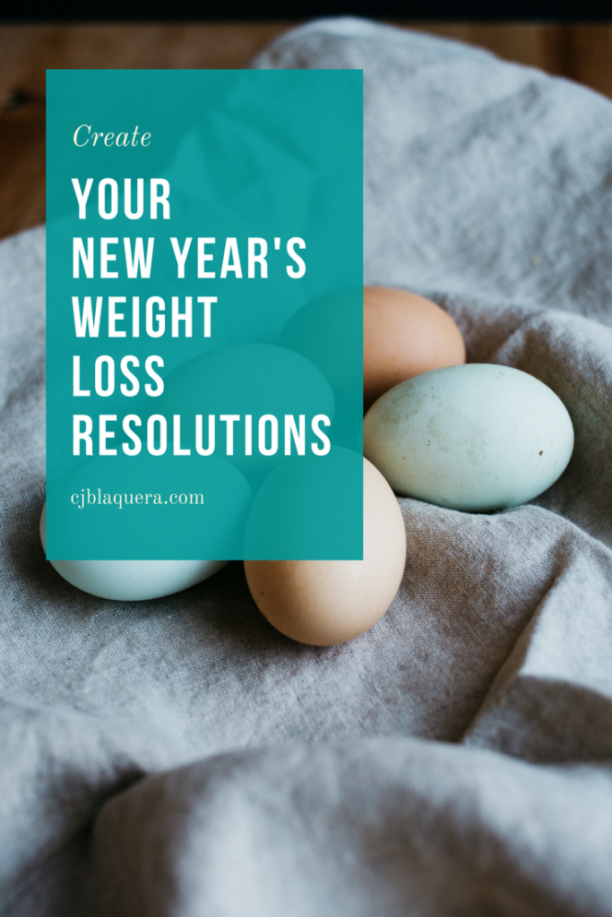 New Year's Weight Loss Resolutions 2018 LOA Weight Loss Coach | C. Jordan Blaquera